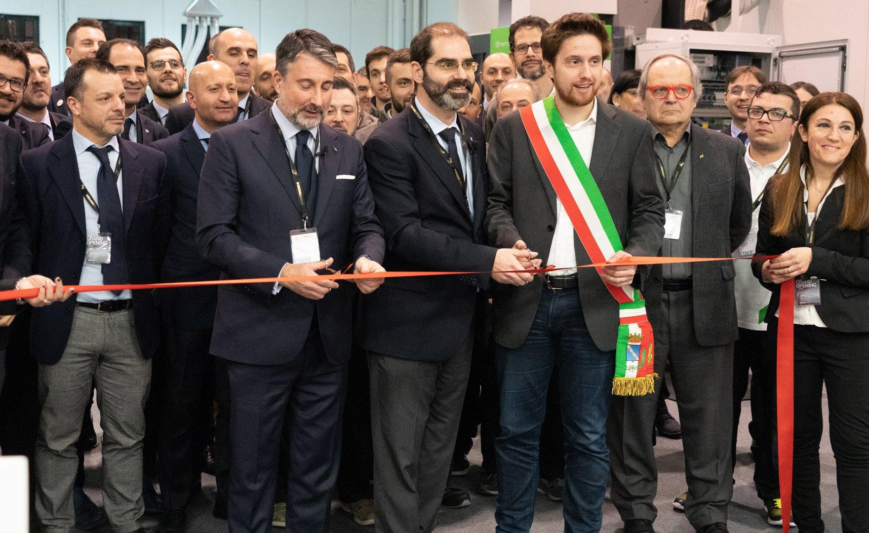 Biesse inaugura la nuova sede in Brianza