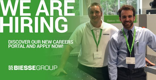 Biesse Group Launches New Careers Portal