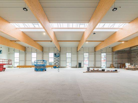 Nouveau bâtiment à Nersingen: Biesse prépare l'avenir