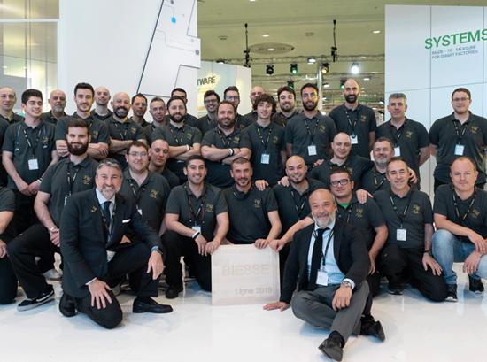 Biesse auf der Ligna 2019: eine Sonderedition zum 50-jährigen Bestehen des Unternehmens.