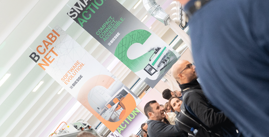 Inside Biesse 2019:  41 technologies, 3 days and over 3,000 visitors are a testament to the international success of the Inside event