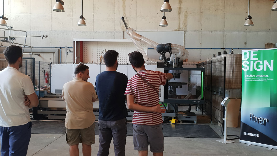 B Oliver organiza Jornadas Técnicas de Biesse en Manacor: Foto 3