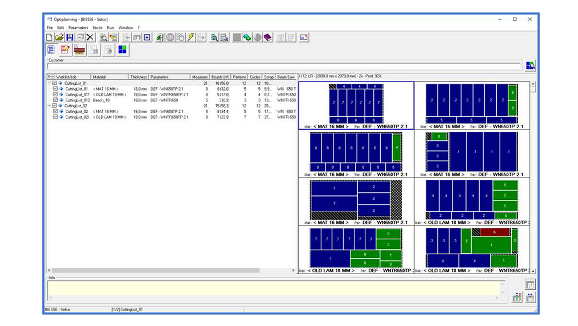 How beam saw optimizers accelerate efficiency: Photo 1