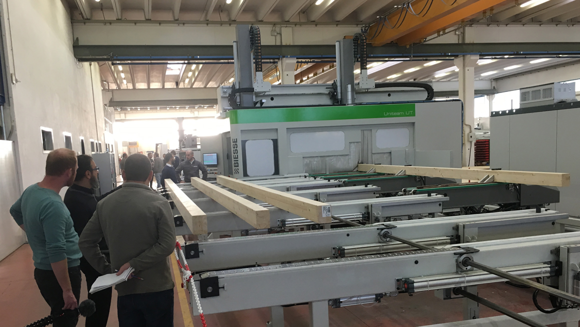 Biesse / Uniteam work with Vaagen Timber on new cross-laminate timber factory: Foto 2