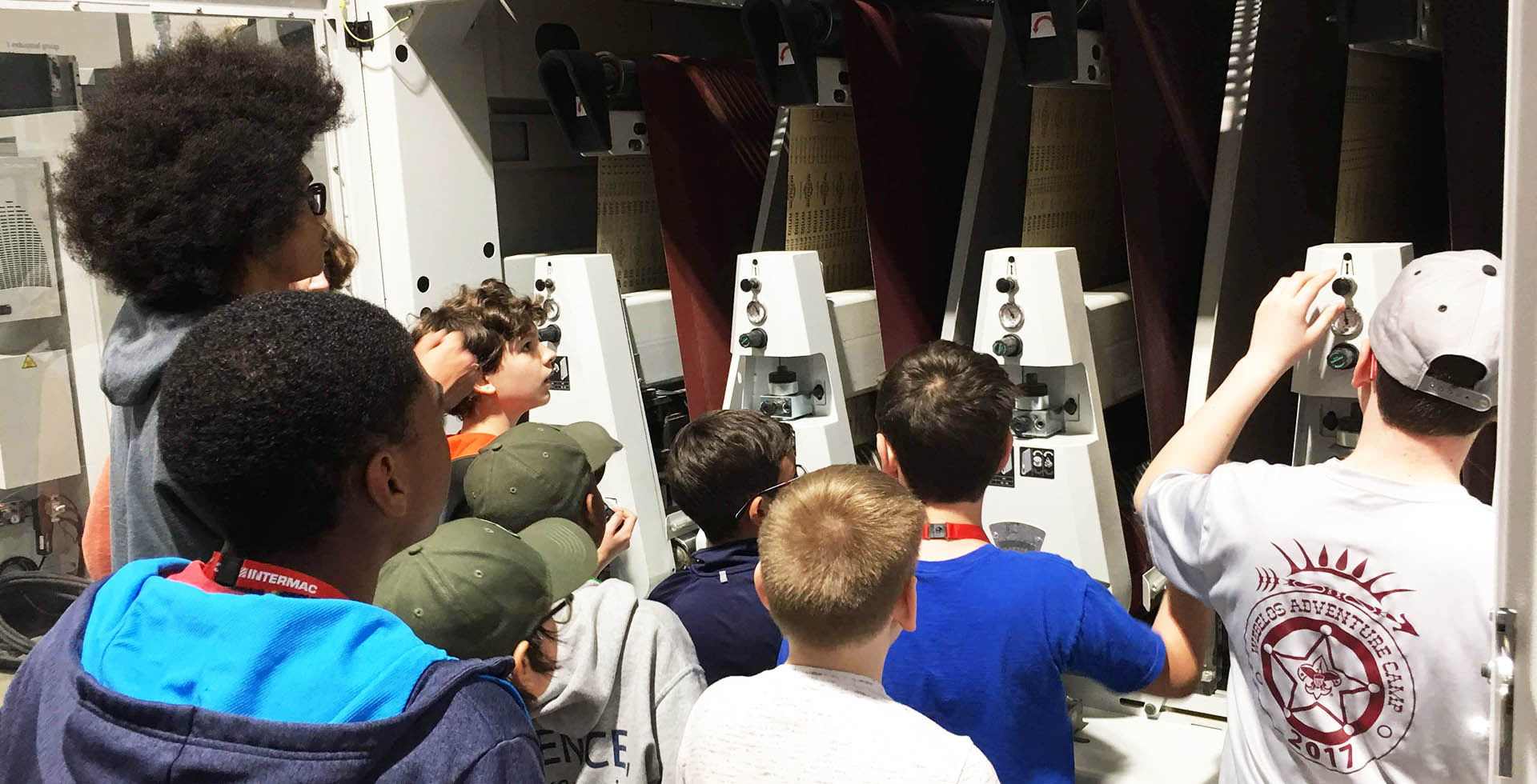 Biesse Group helps Hornets Nest Scouts BSA troop earn robotics merit badge: Photo 1