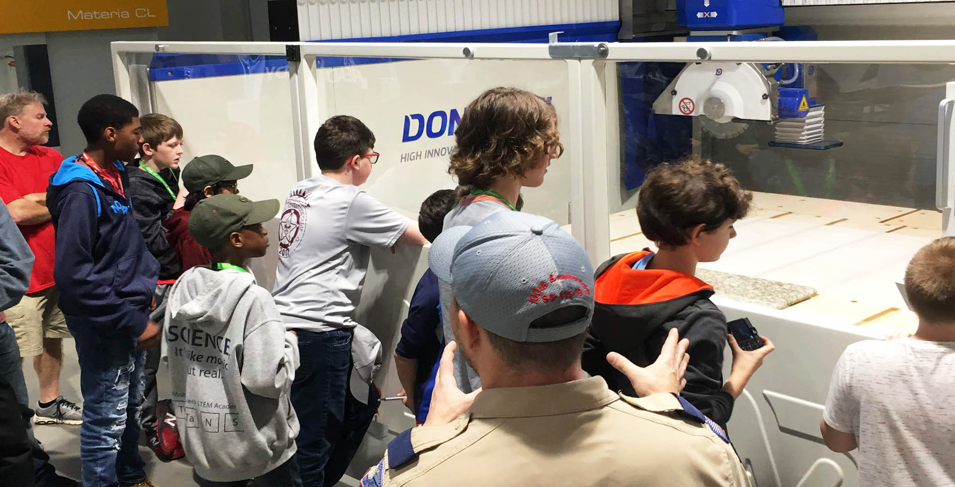 Biesse Group helps Hornets Nest Scouts BSA troop earn robotics merit badge: Photo 2