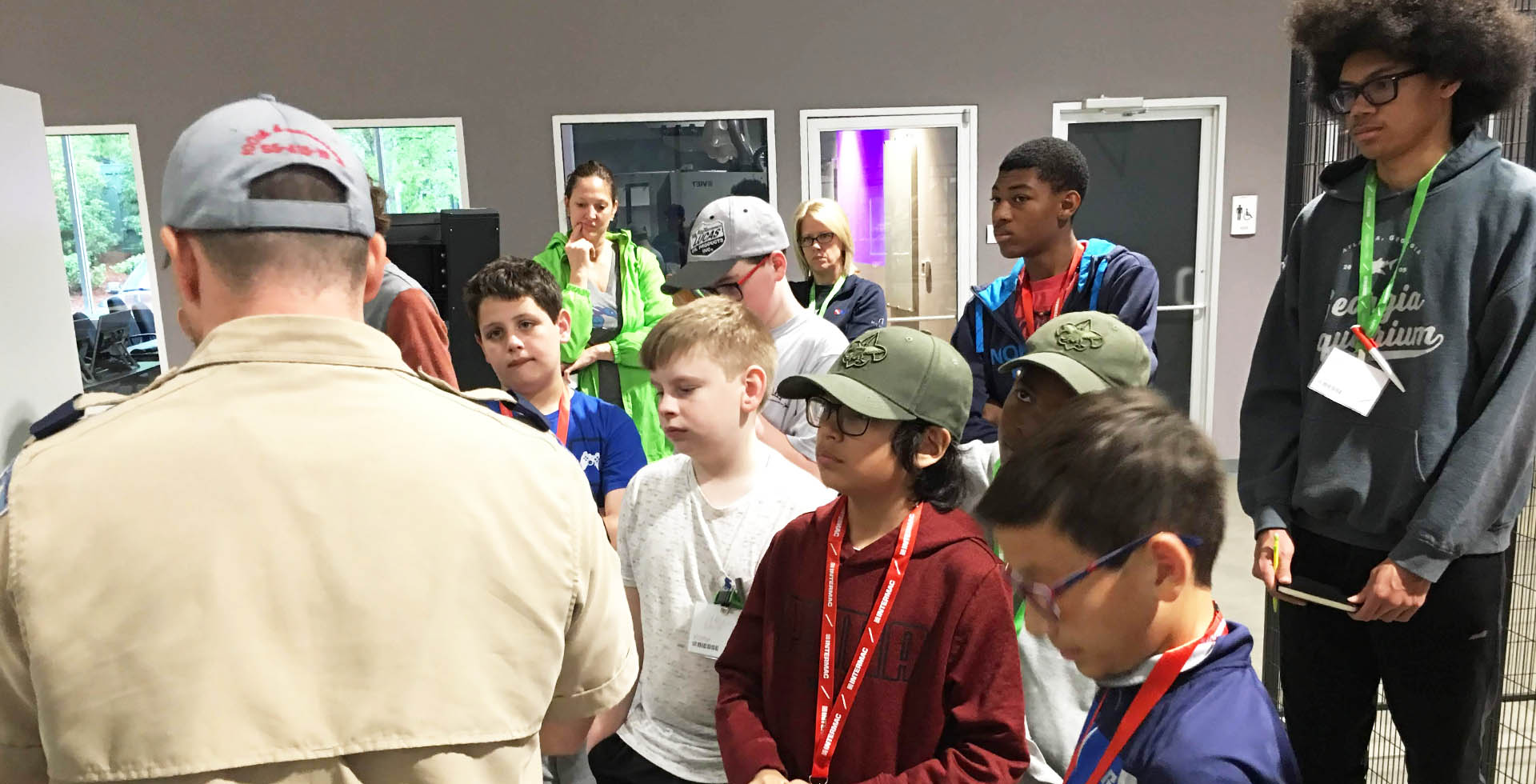 Biesse Group helps Hornets Nest Scouts BSA troop earn robotics merit badge: Foto 3