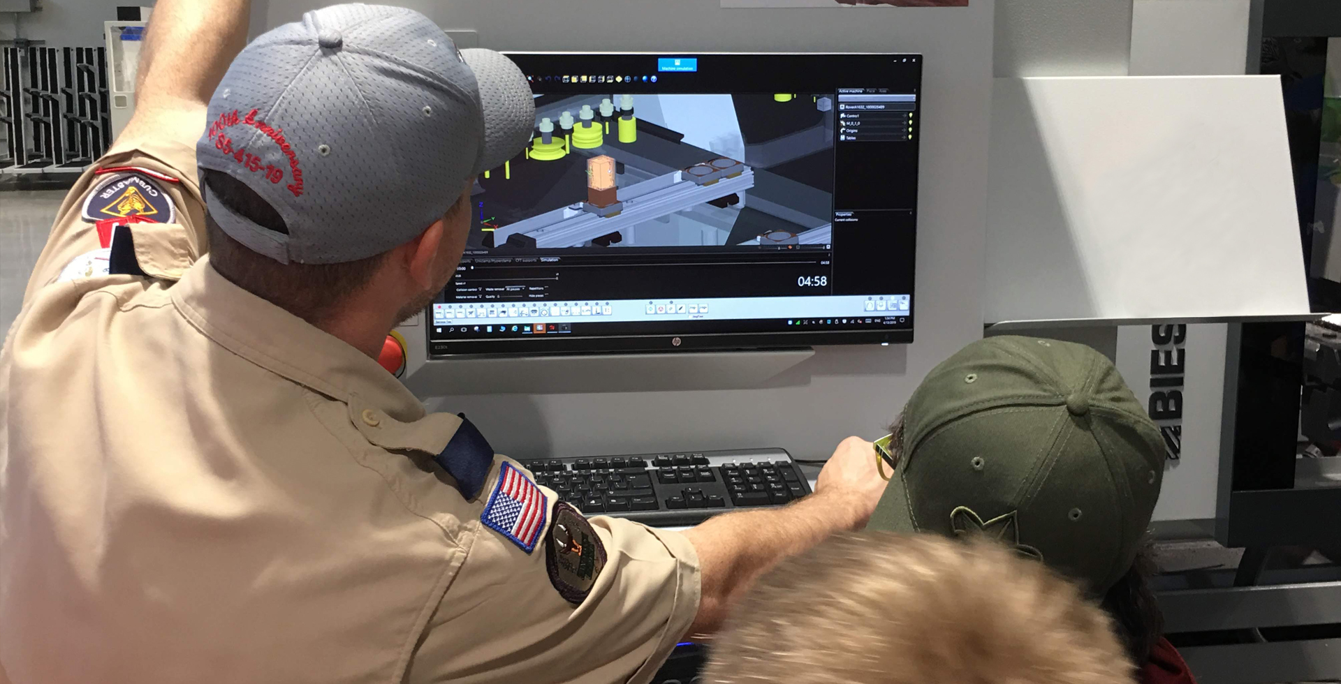 Biesse Group helps Hornets Nest Scouts BSA troop earn robotics merit badge: Foto 4