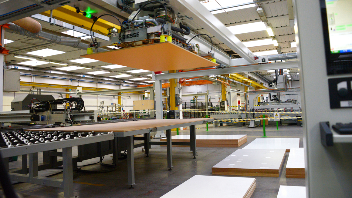 Looking to invest in a nested CNC machine or beam saw? Think forward three or more years.: Foto 2