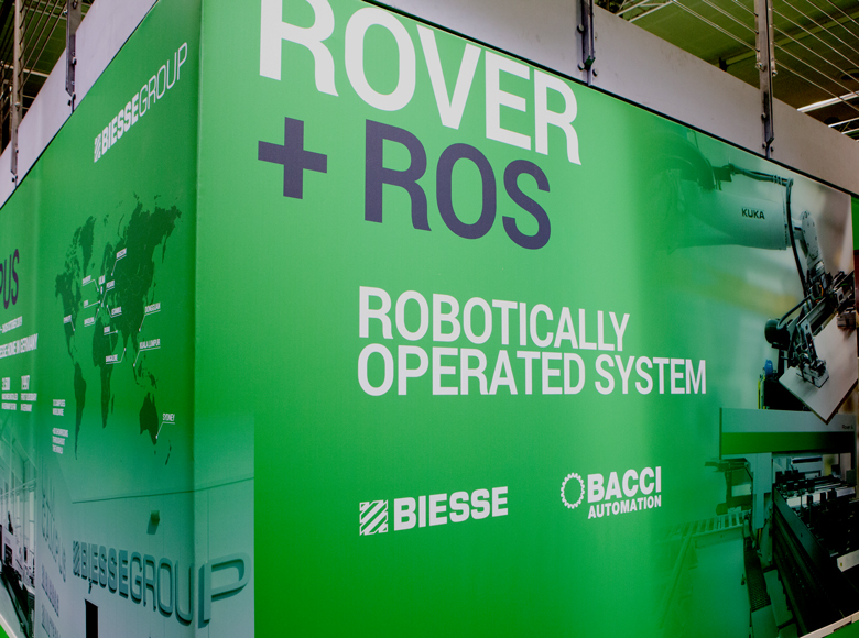 Biesse and Bacci Automation at LIGNA