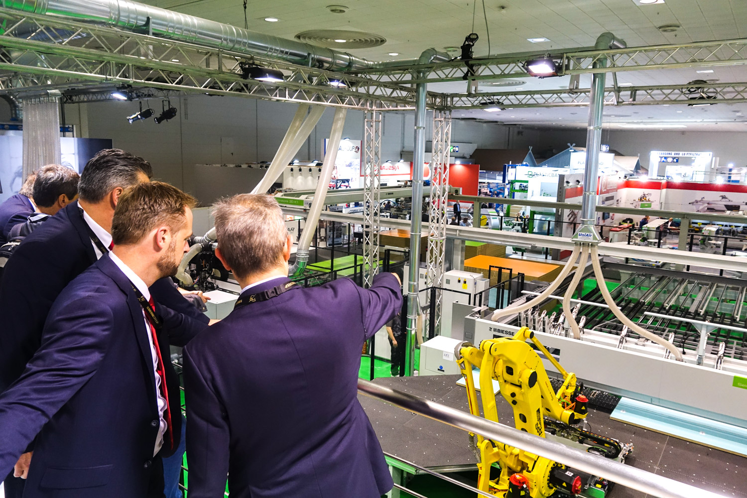 Biesse showcases groundbreaking technologies for small- to large-scale enterprises