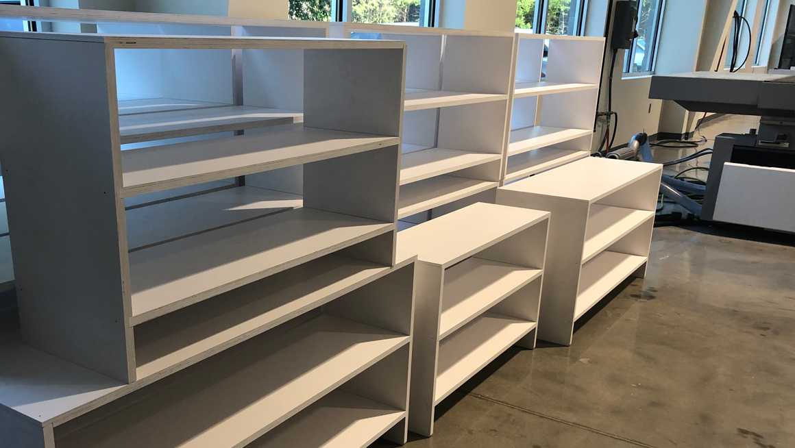 Biesse America and Cefla build shelves at Montessori school in Charlotte, NC: Foto 2
