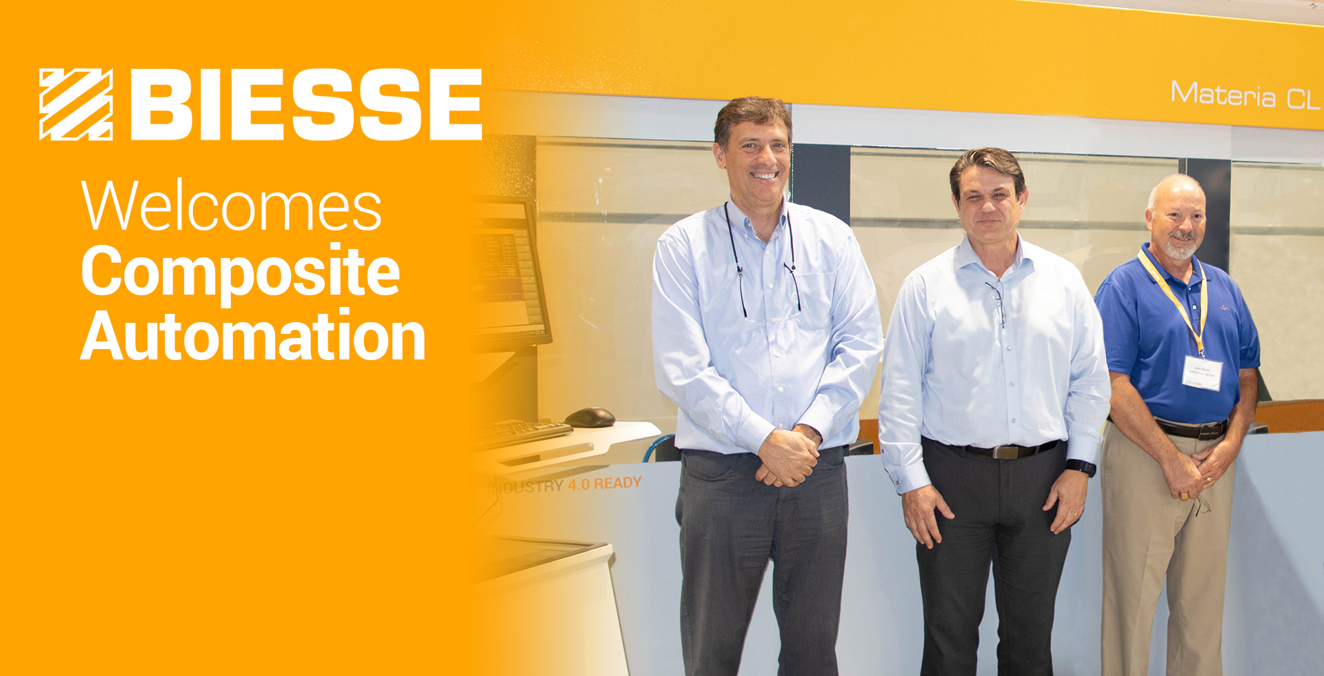 Biesse Welcomes Composite Automation