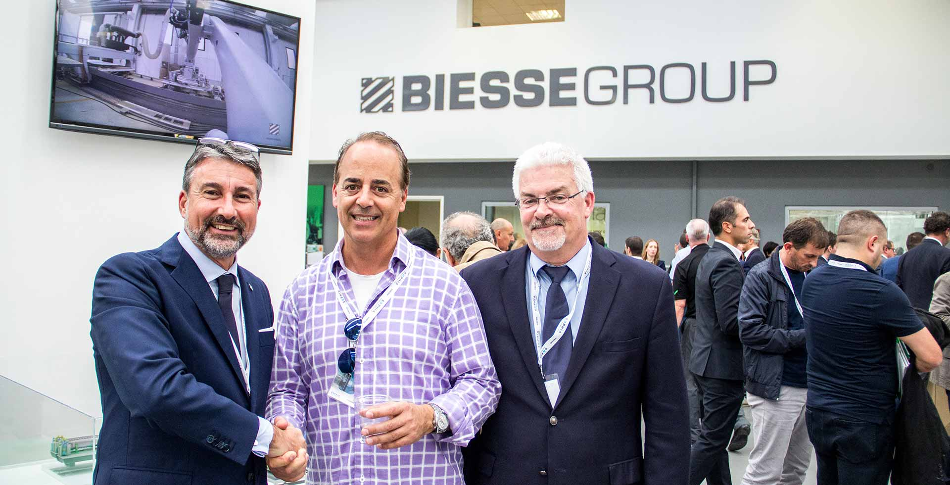 Biesse Inside event is confirmed as one of the leading points of reference for the sector