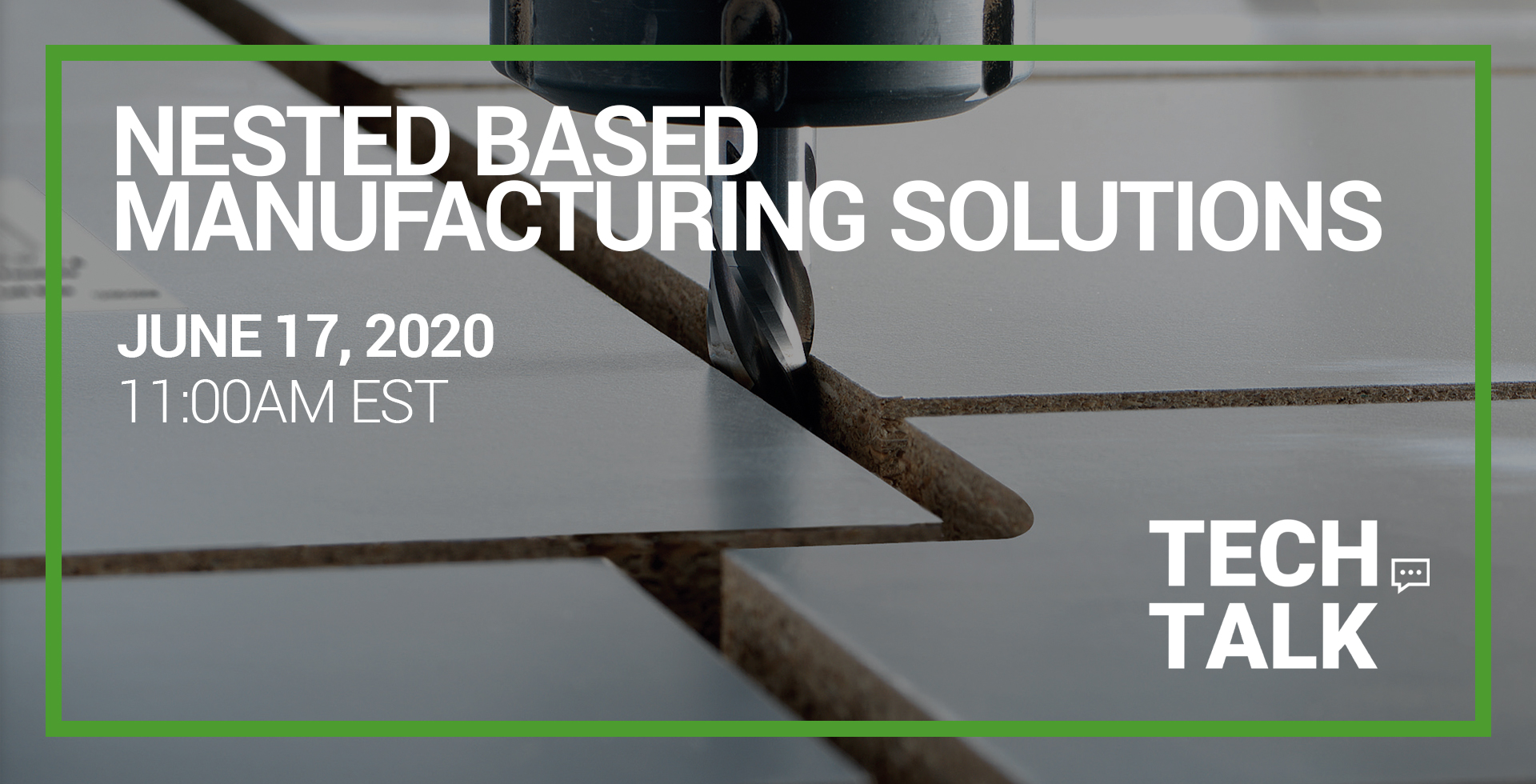 Webinar - Nested Based Manufacturing Solutions