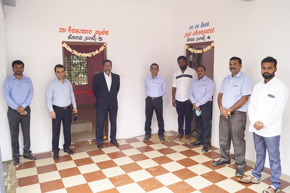 Biesse India has constructed a School at Honnagangayanapalya.: Photo 3