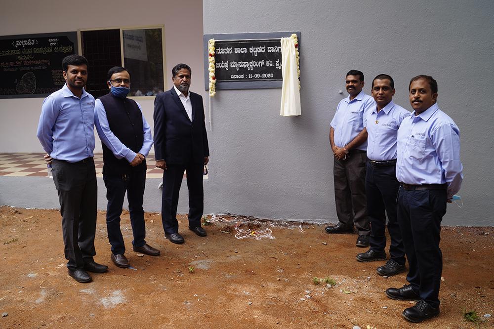 Biesse India has constructed a School at Honnagangayanapalya.: Photo 5