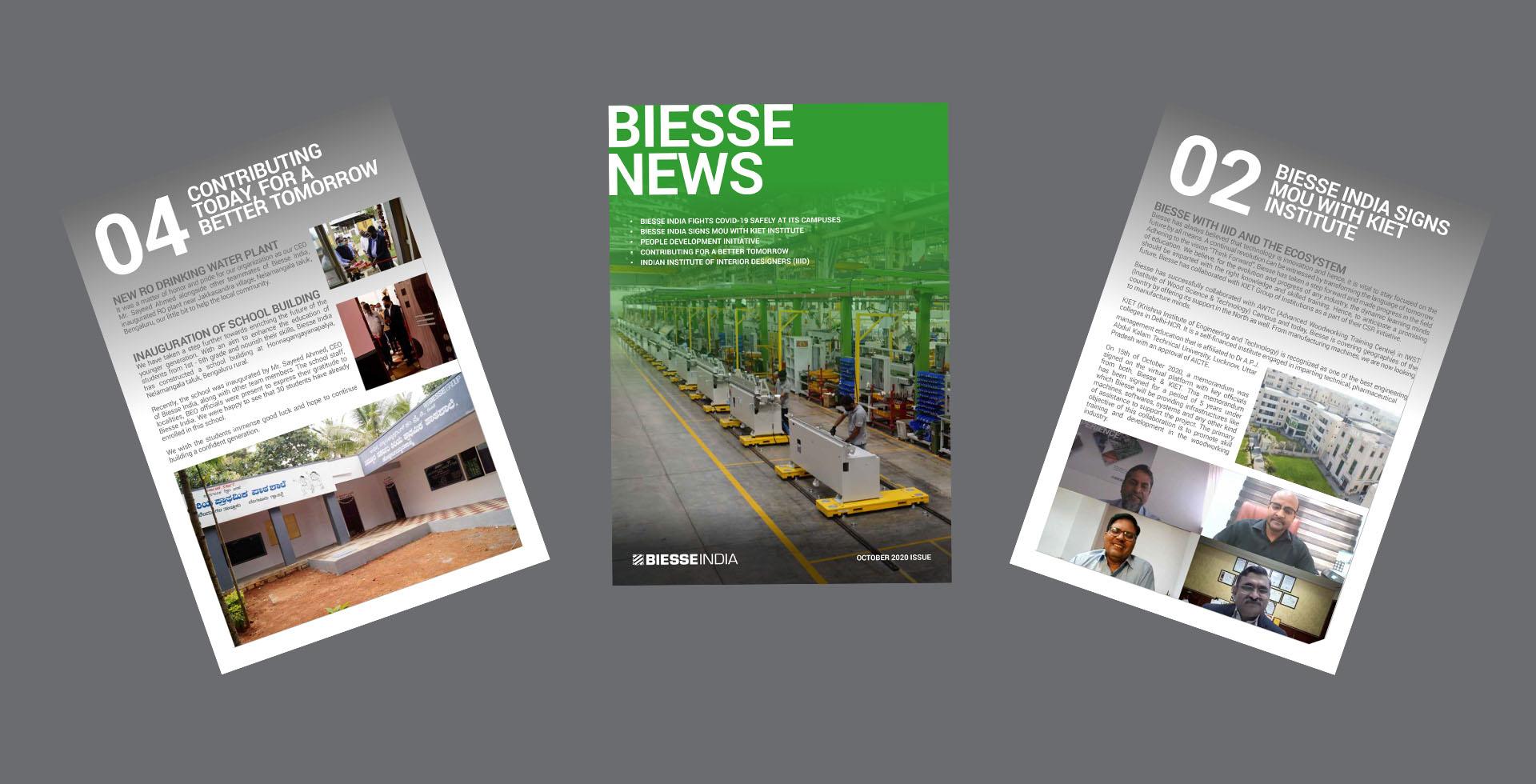 Biesse News: Aug - Oct 2020: Photo 1