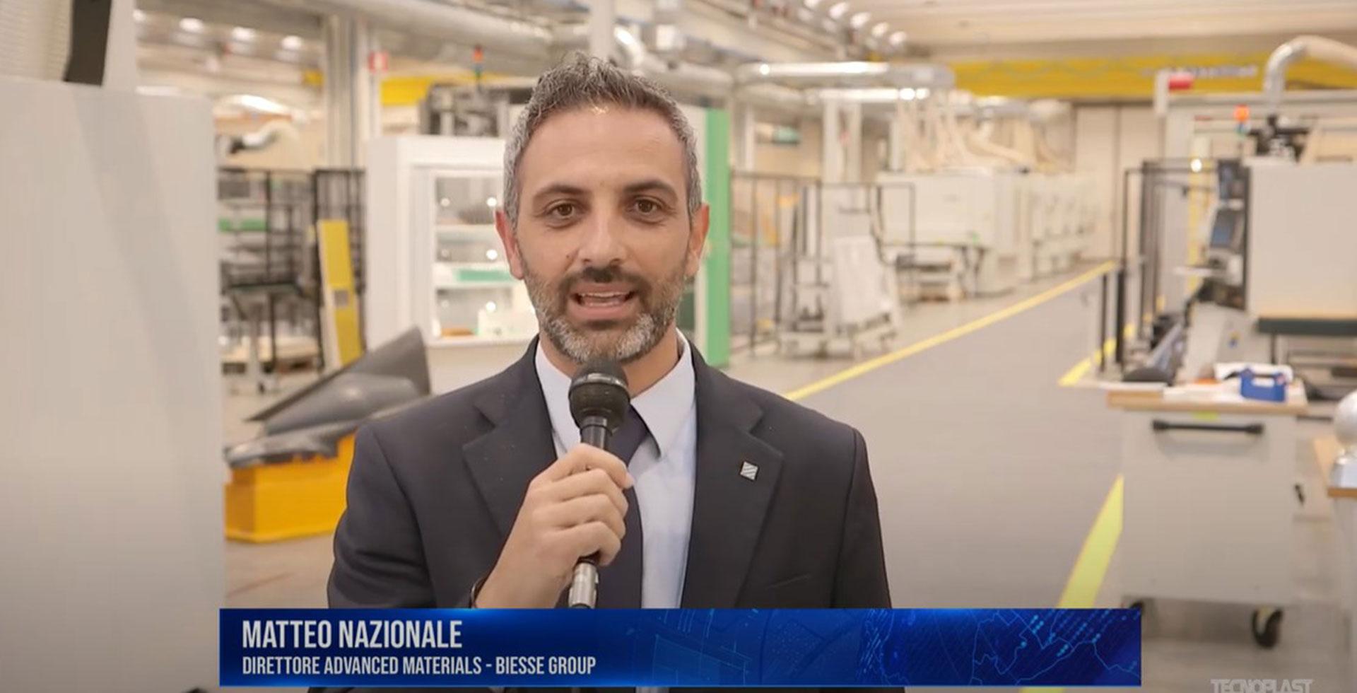 Matteo Nazionale, Advanced Materials Director, ai microfoni di TecnoPlast News.: Foto 1