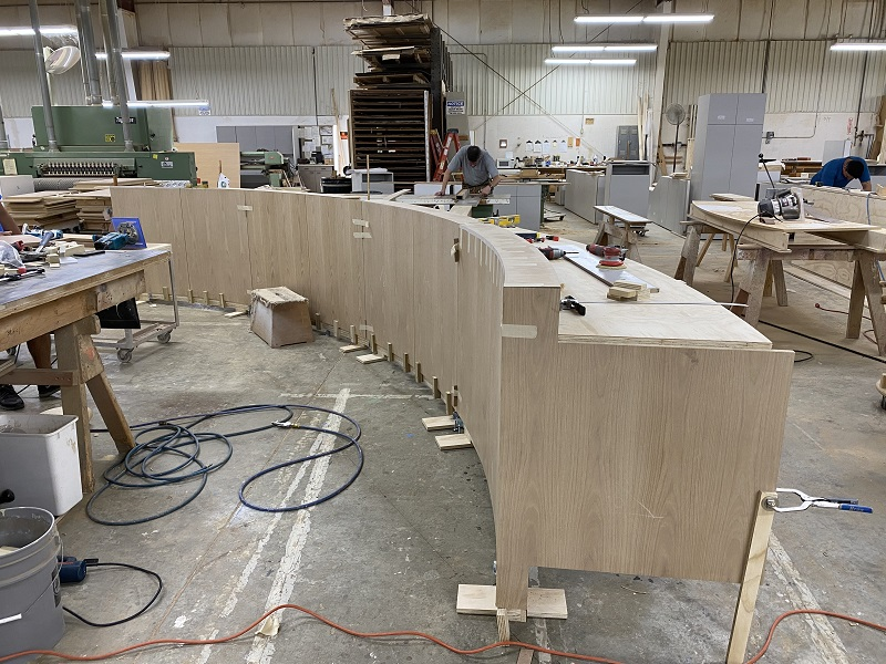 Millwork Company isn't Afraid of High Visibility Projects: Foto 3