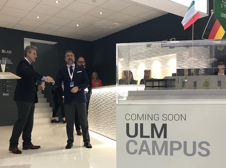 Biesse präsentiert auf der Holz-Handwerk 2018 den neuen 'Campus Ulm'