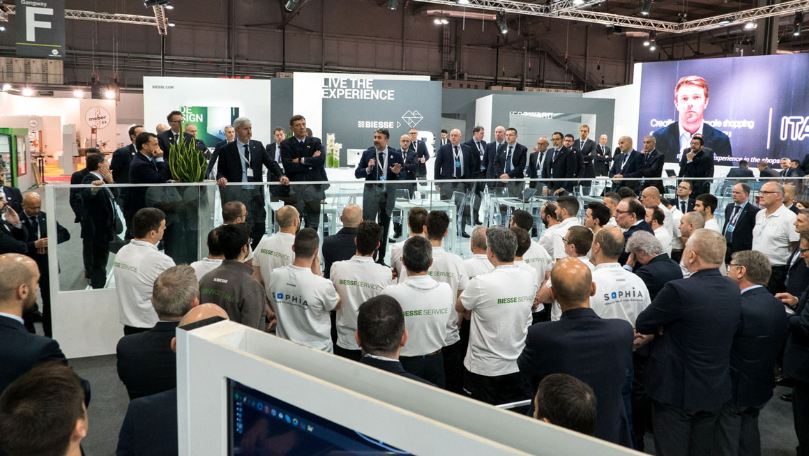 Biesse at Xylexpo 2018: unstoppable growth: Photo 1