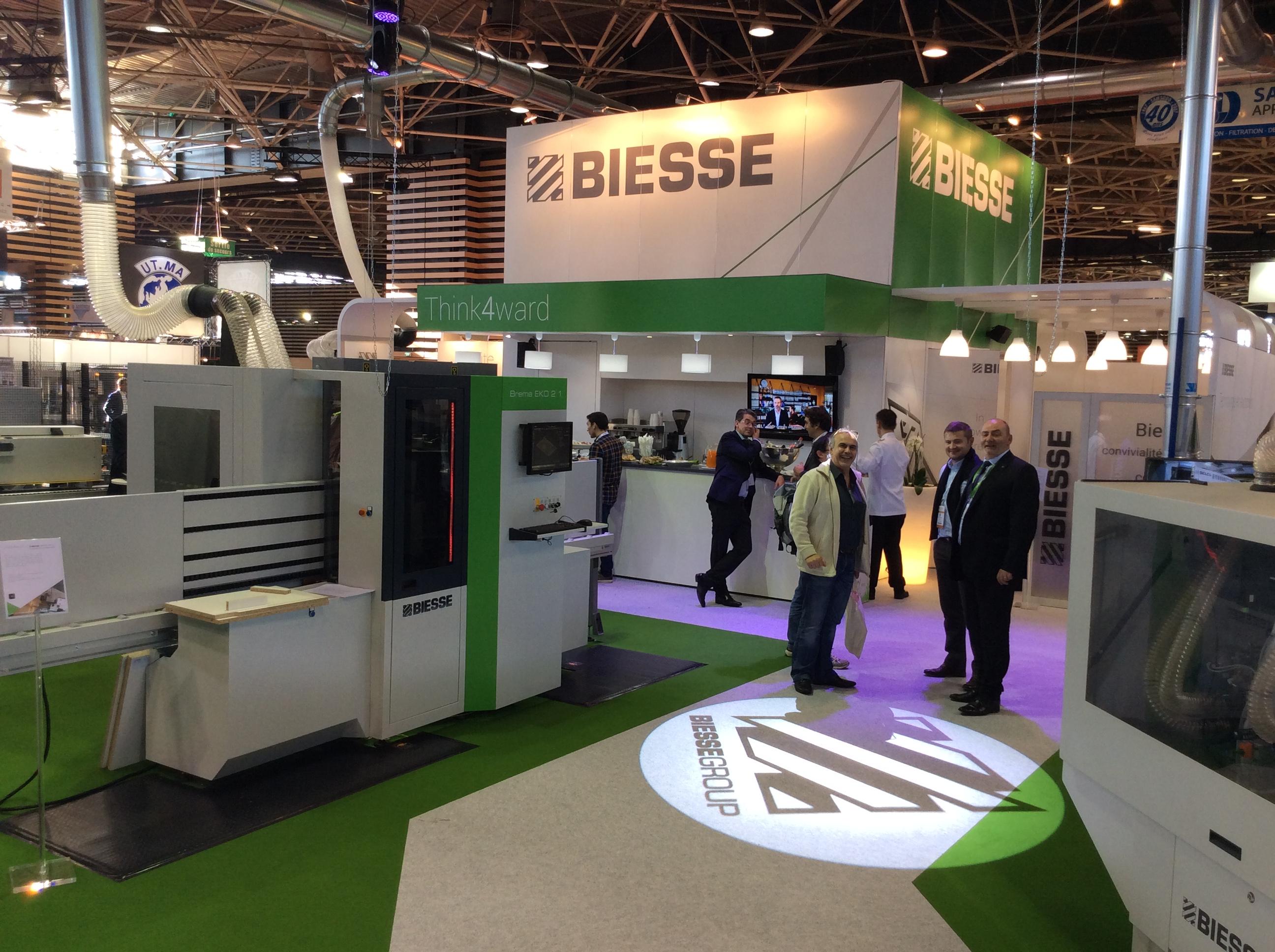 Les technologies innovantes Biesse s'exposent au salon Eurobois 2018