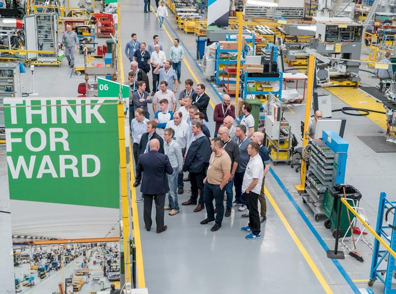 Inside Biesse, open doors with technology and services that will digitalize the factories of the manufacturing world