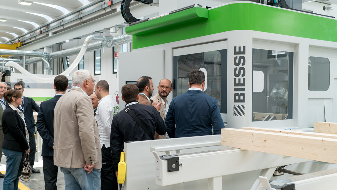 Inside Biesse, open doors with technology and services that will digitalize the factories of the manufacturing world: Photo 3