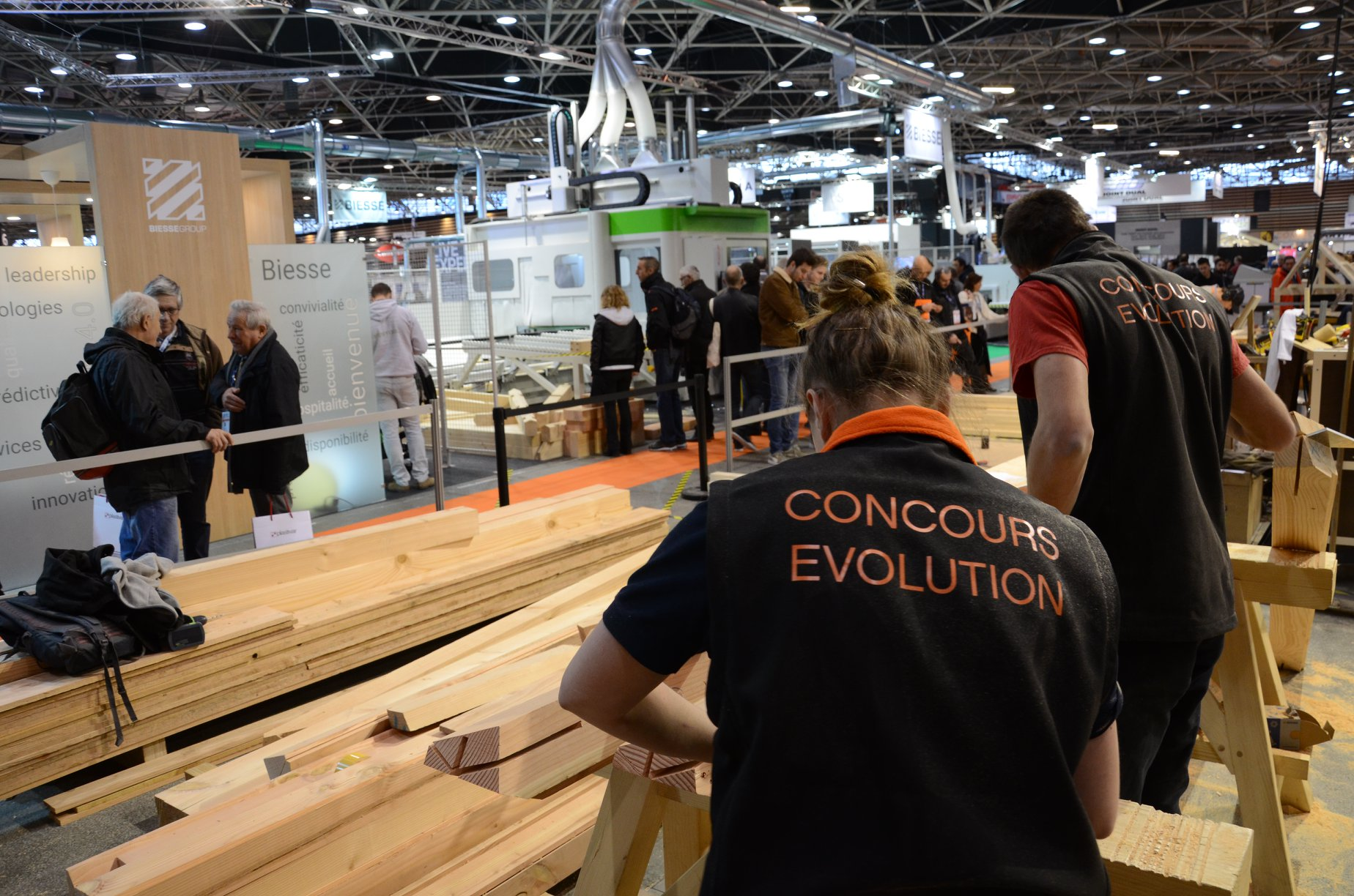 Biesse est partenaire de la sélection nationale du concours européen des jeunes charpentiers!: Photo 1